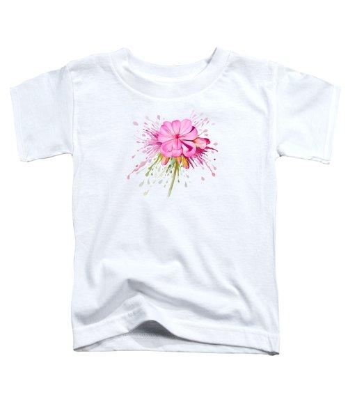Pink Eruption Toddler T-Shirt
