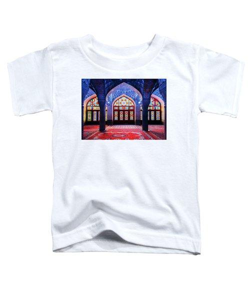 Pink Mosque, Iran Toddler T-Shirt