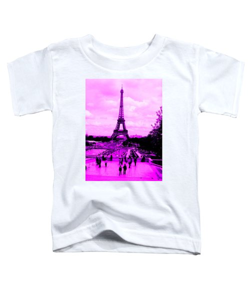 Pink Paris Toddler T-Shirt