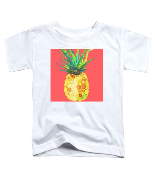Pink Pineapple Daquari Toddler T-Shirt