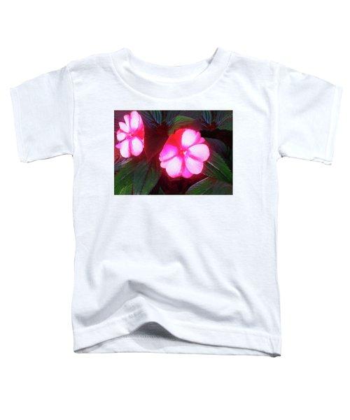 Pink Red Glow Toddler T-Shirt