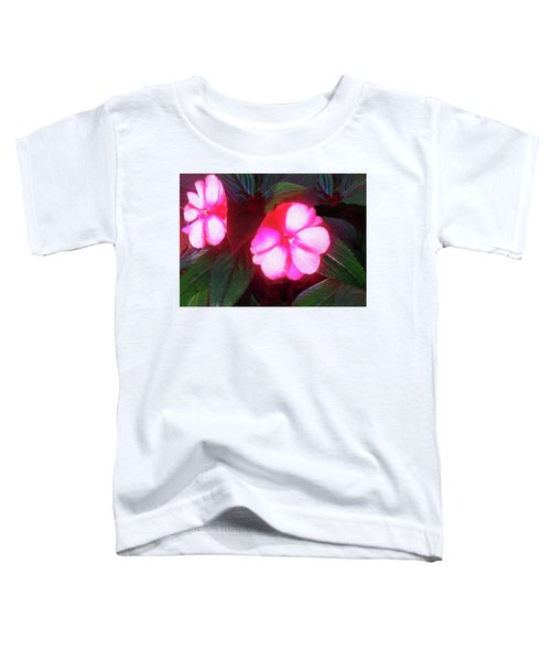 Pink Red Glow Toddler T-Shirt