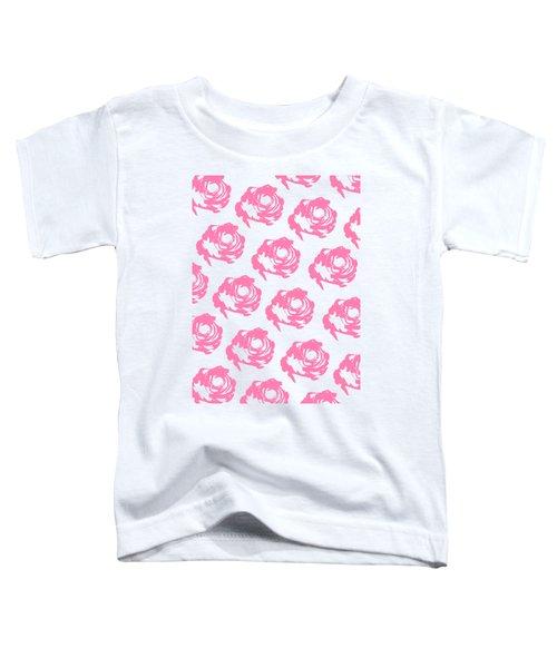 Pink Roses Toddler T-Shirt