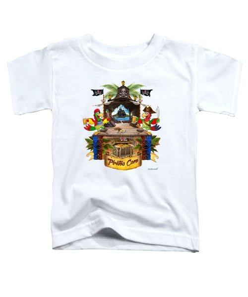 Pirates Cove Toddler T-Shirt