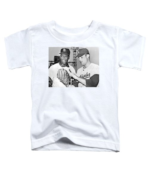 Pitcher Bob Gibson Toddler T-Shirt