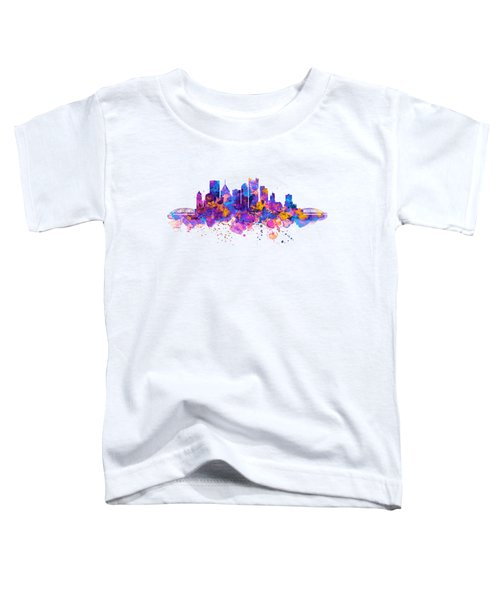 Pittsburgh Skyline Toddler T-Shirt