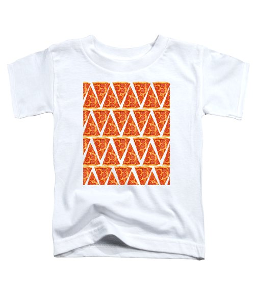 Pizza Slices Toddler T-Shirt by Diane Diederich