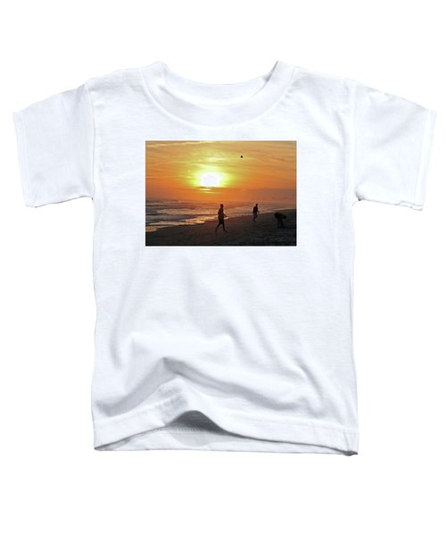 Play On The Beach Toddler T-Shirt