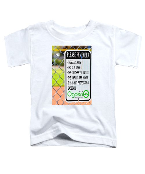 Please Remember 28 Toddler T-Shirt