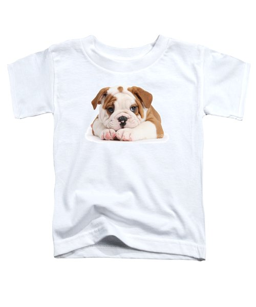 Po-faced Bulldog Toddler T-Shirt