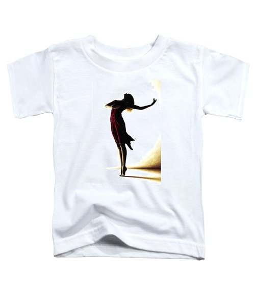 Poise In Silhouette Toddler T-Shirt