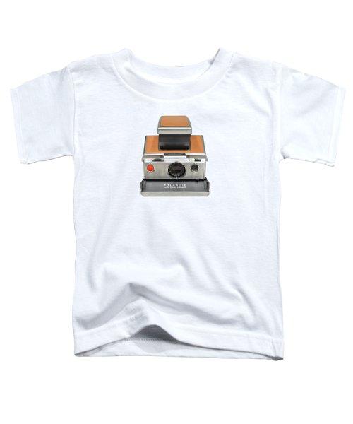 Polaroid Sx70 On White Toddler T-Shirt