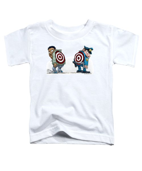 Police And Black Folks Are Targets Toddler T-Shirt