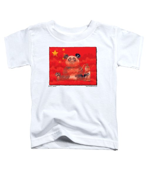 Pollution In China Toddler T-Shirt