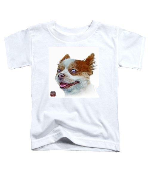 Pomeranian Dog Art 4584 - Wb Toddler T-Shirt