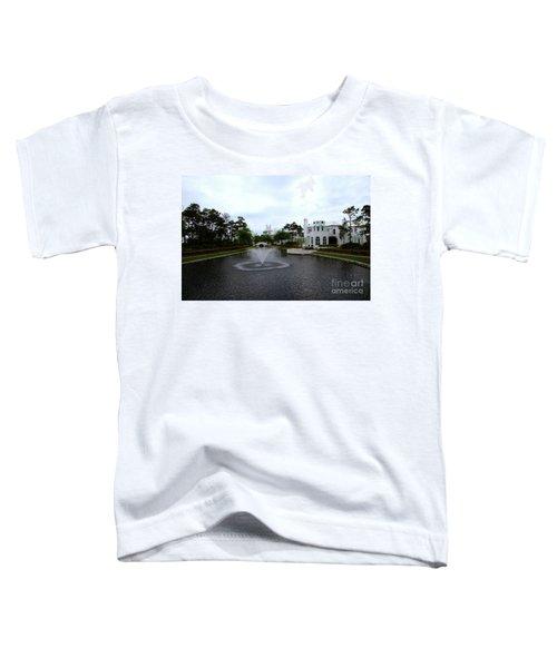 Pond At Alys Beach Toddler T-Shirt by Megan Cohen