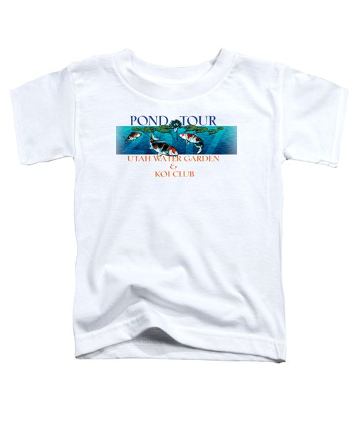 Pond Tour Toddler T-Shirt by Rob Corsetti