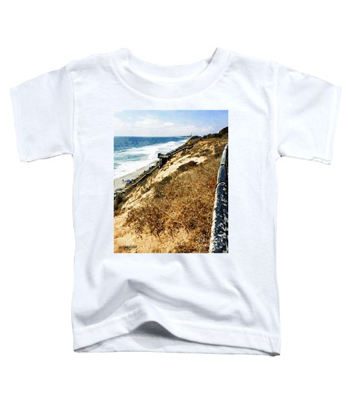 Ponto Beach, Carlsbad Toddler T-Shirt