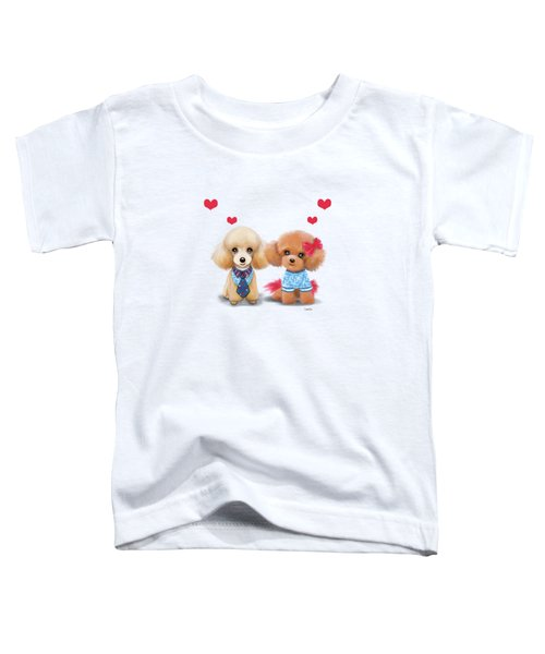 Poodles Are Love Toddler T-Shirt