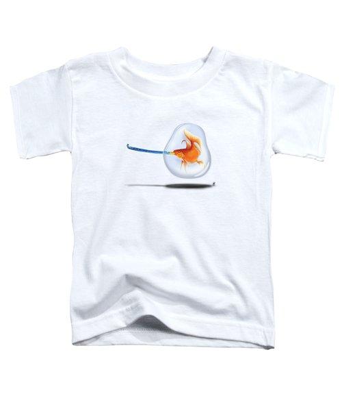 Popper Colour Toddler T-Shirt