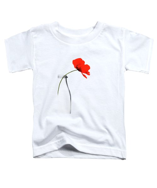 Poppy Red Toddler T-Shirt