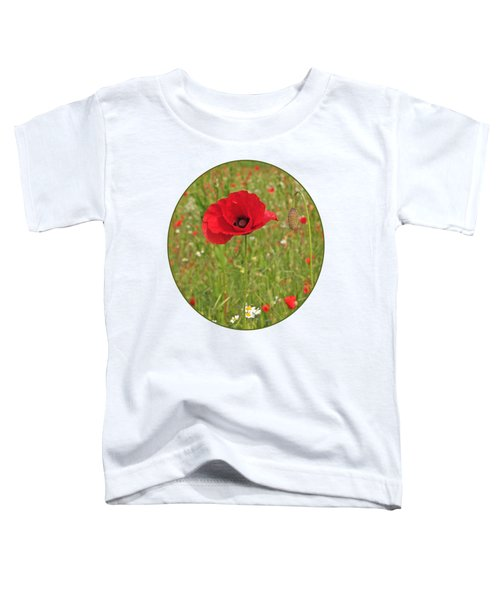 Poppy With Bud Toddler T-Shirt