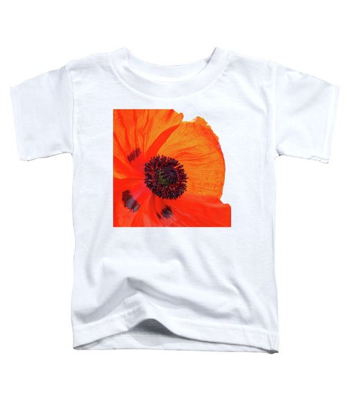Poppy With Raindrops 2 Toddler T-Shirt