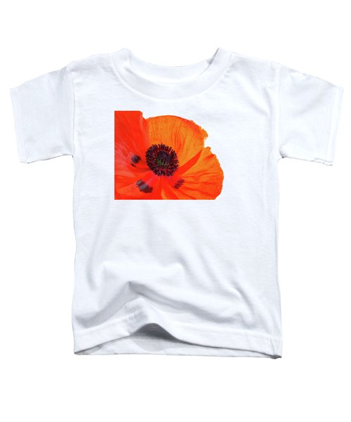 Poppy With Raindrops 3 Toddler T-Shirt