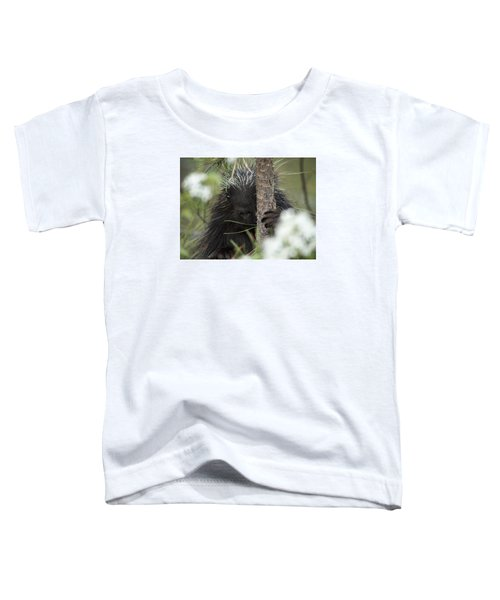 Porcupine Check-out Toddler T-Shirt
