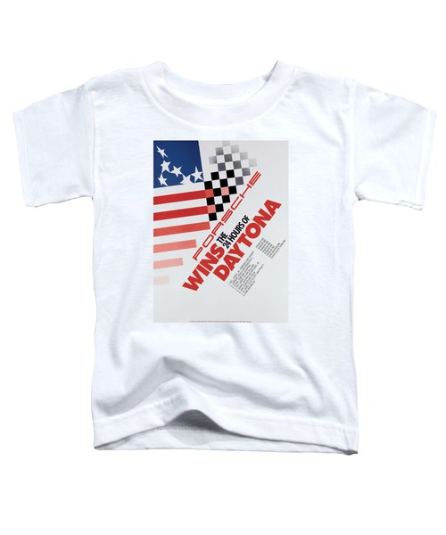 Porsche 24 Hours Of Daytona Wins Toddler T-Shirt
