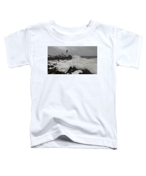 Portland Head Light Nor'easter Toddler T-Shirt