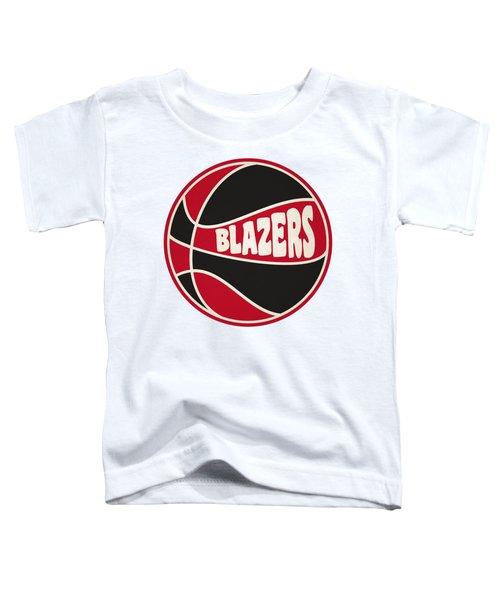 Portland Trail Blazers Retro Shirt Toddler T-Shirt