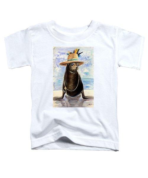 Portrait Of A Sea Lion Toddler T-Shirt
