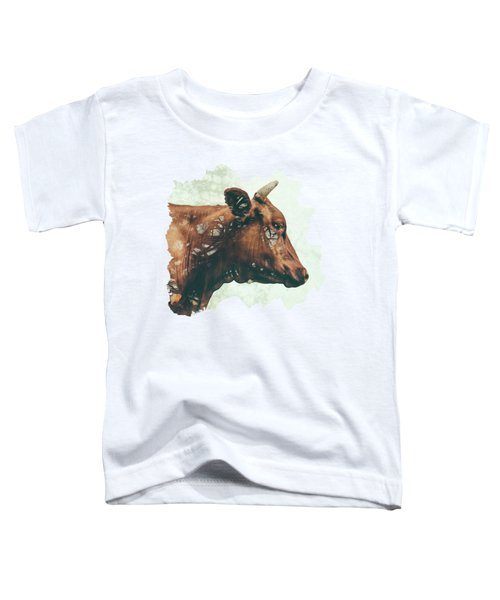 Portrait Of Bess Toddler T-Shirt by Katherine Smit