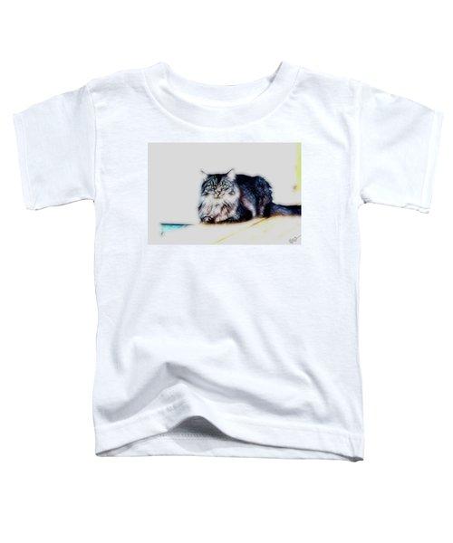 Portrait Of Maine Coon, Mattie Toddler T-Shirt