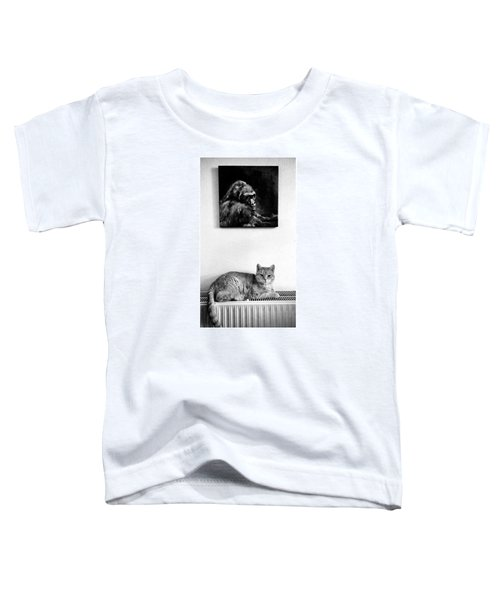 Portraitiere Mich. Jetzt.  #imhotep Toddler T-Shirt