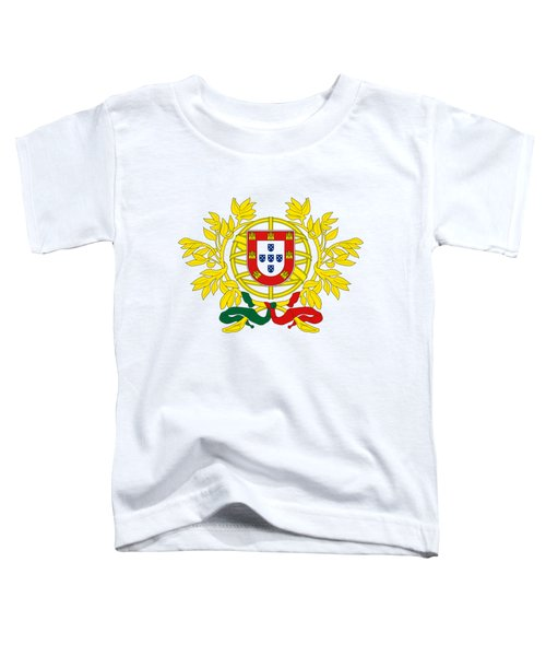 Portugal Coat Of Arms Toddler T-Shirt