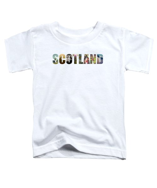 Postcard For Scotland Toddler T-Shirt