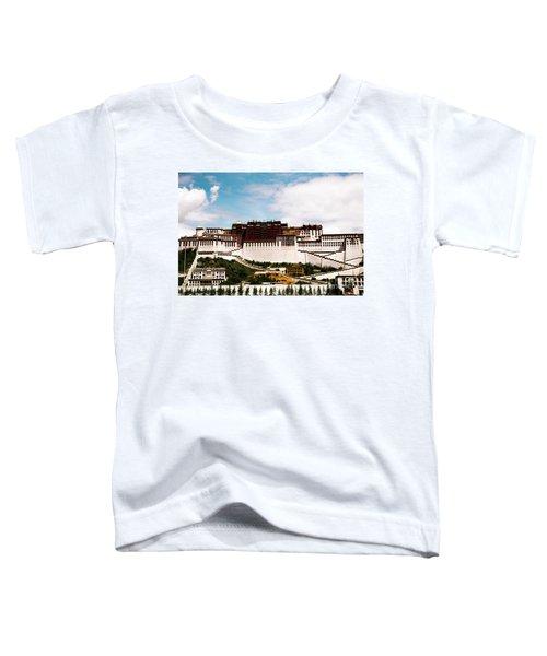 Potala Palace Dalai Lama Home Place. Tibet Kailash Yantra.lv 2016  Toddler T-Shirt