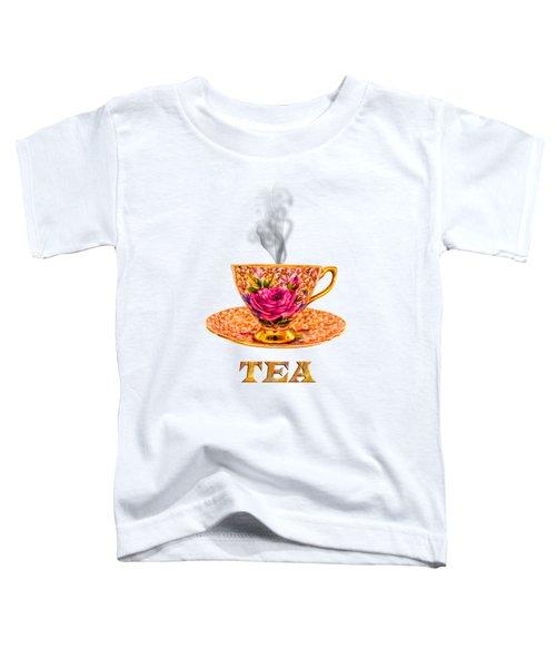 Potty About Tea Toddler T-Shirt