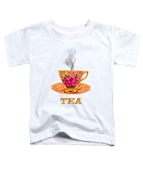 Potty About Tea Toddler T-Shirt
