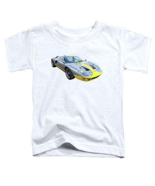 Power And Performance - Ford Gt40 Toddler T-Shirt