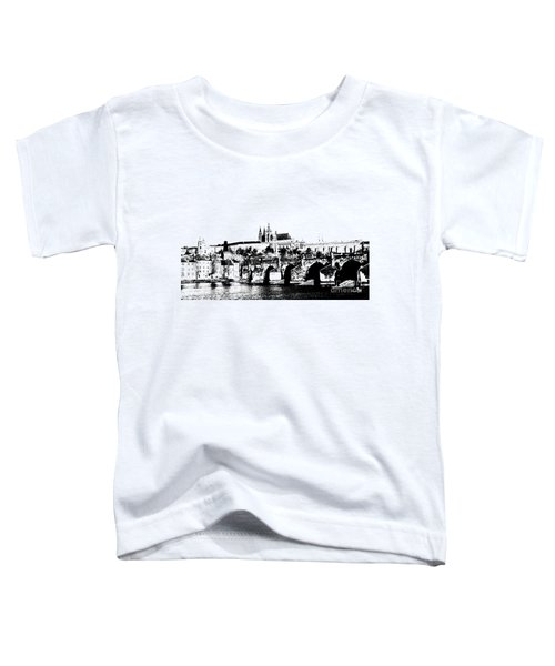 Prague Castle And Charles Bridge Toddler T-Shirt