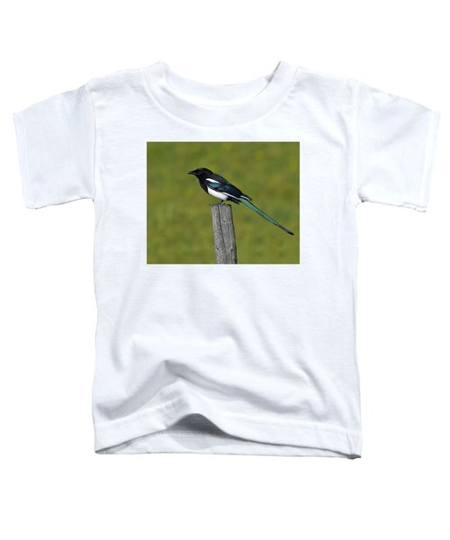 Prairie Perch Toddler T-Shirt by Tony Beck