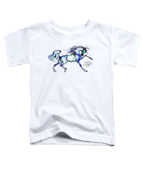 Prancing Arabian Horse Toddler T-Shirt