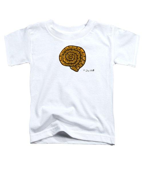 Prehistoric Shell Toddler T-Shirt