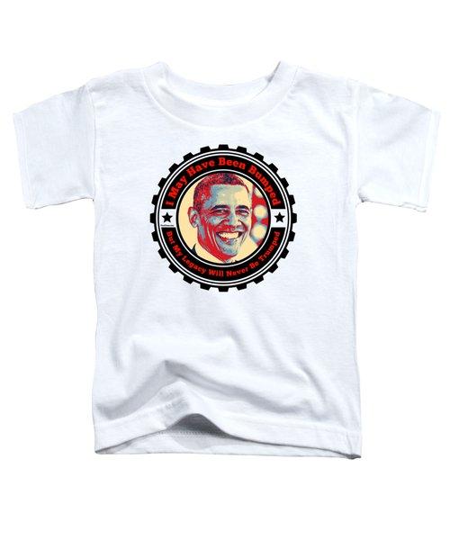 President Barack Obama  Toddler T-Shirt