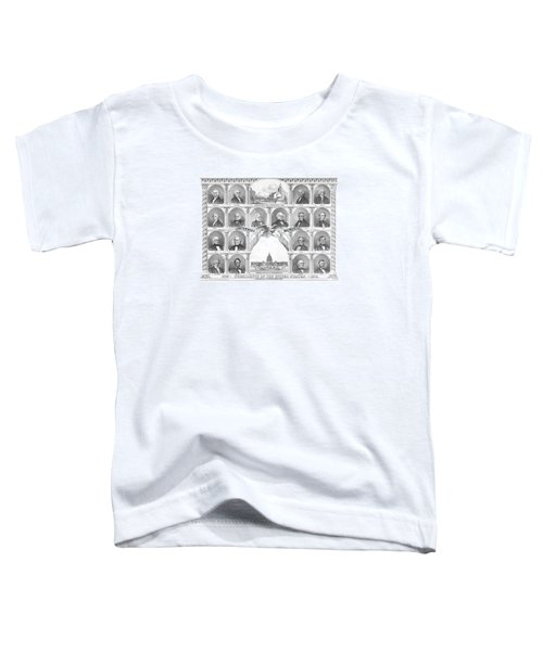 Presidents Of The United States 1776-1876 Toddler T-Shirt by War Is Hell Store