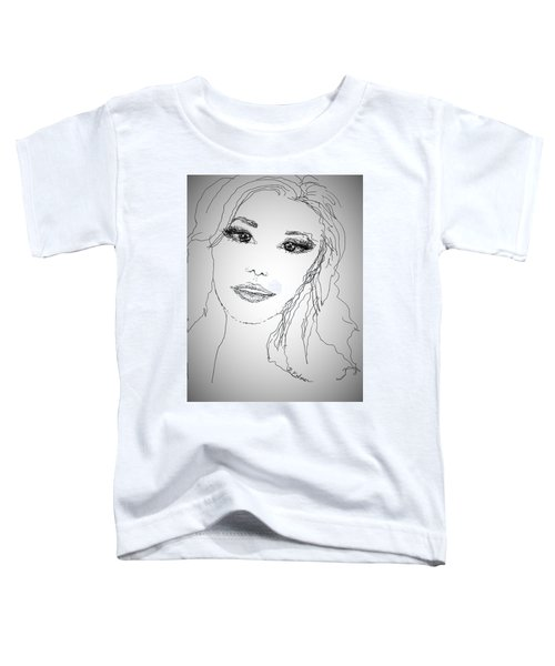 Pretty Eyes Toddler T-Shirt
