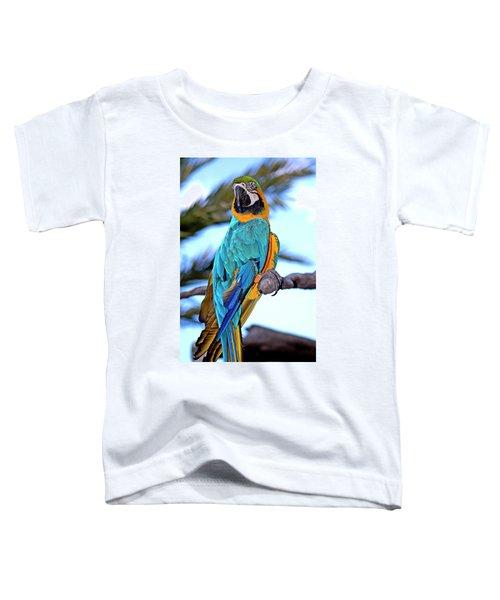 Pretty Parrot Toddler T-Shirt